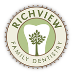 Richview Family Dentistry - Toothbrush: Then and Now